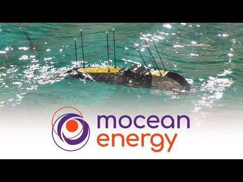Mocean Energy - Étude de l'énergie des vagues