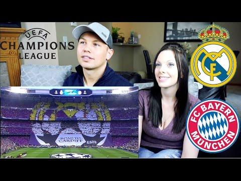 (Reaction) Real Madrid vs Bayern Munich 4-2 Goals & Highlights