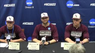 2017 Division III World Series Game 1: Concordia-Chicago postgame