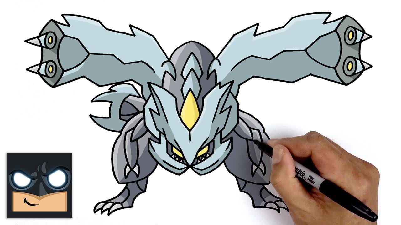 How To Draw Kyurem | Pokemon