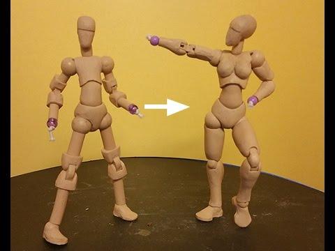 Action Figure Armature Dollythingy part 2