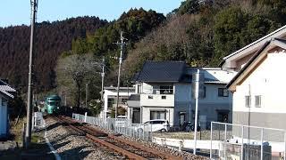2019/1/27 特急「ゆふいんの森5号」走行@日田~豊後三芳間