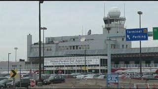 Demolition of Terminal B at Bradley International Airport has begun