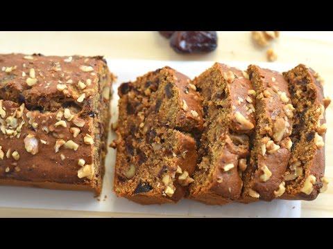 Date Cake / Date And Walnut Cake Recipe