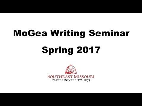 MoGEA Writing Seminar - Spring 2017