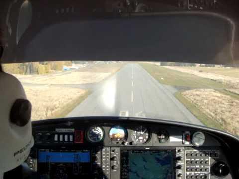 De Stofzuigerpiloot landing stockholm