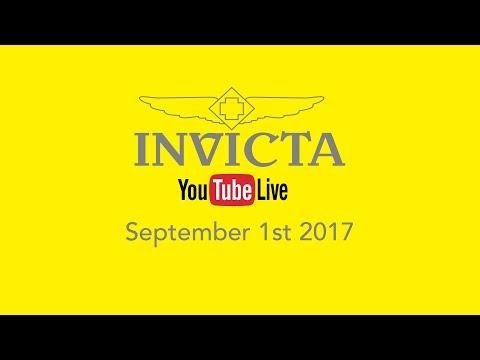 Invicta YouTube Live 9.1.17