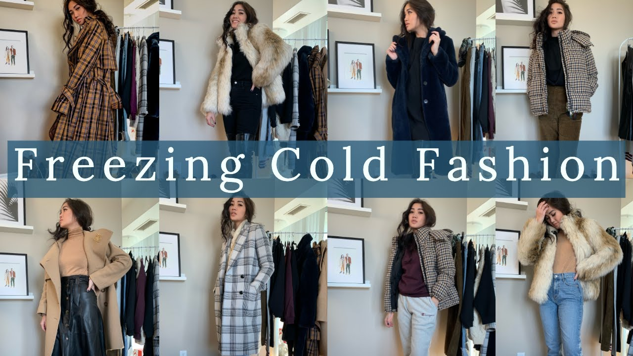 FREEZING COLD FASHION | Winter Outfit Inspo | Reesenguyenn 9