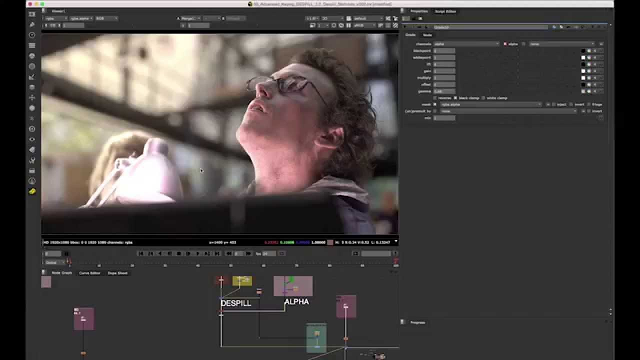 Advanced Keying Breakdown – Compositing Mentor