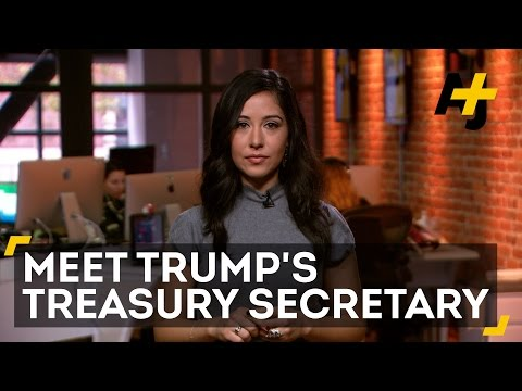 Who Is Steve Mnuchin, Trump's Pick For Treasury Secretary?