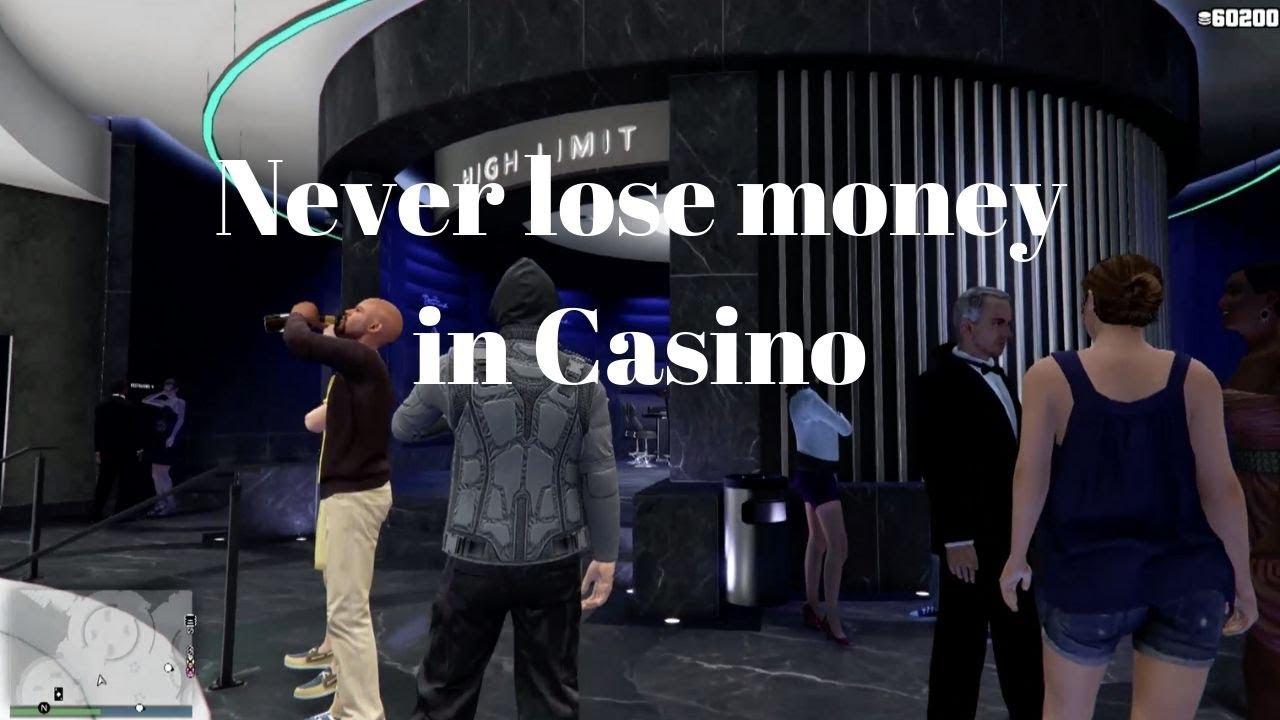 Never Lose Any Game In Casino Solo Gta 5 Online Money Glitch
