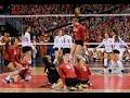 NCAA 2015 Finals Highlights - Nebraska vs Texas (women's volleyball)