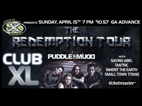 Puddle of Mudd - Harrisburg, PA - Full Concert - April 15, 2018