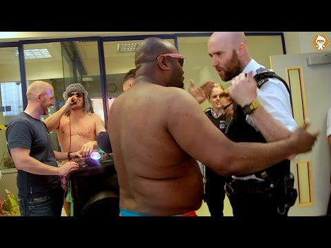Disco Party In A Police Station Prank