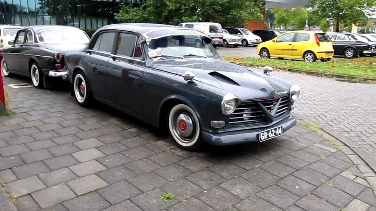 volvo amazon 121 custom hotrod - youtube