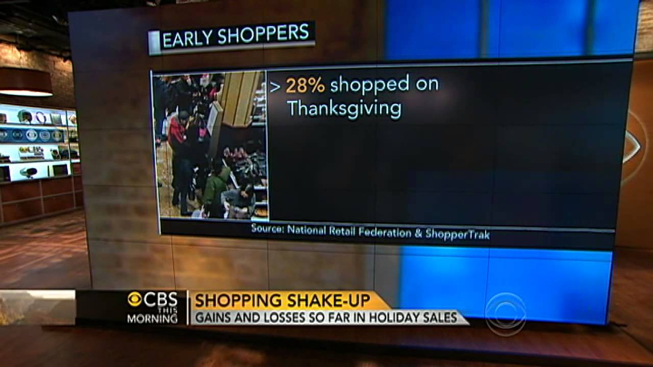 Black Friday Is Off to a Slow Start for Some Brick and Mortar Stores as Action Moves Online