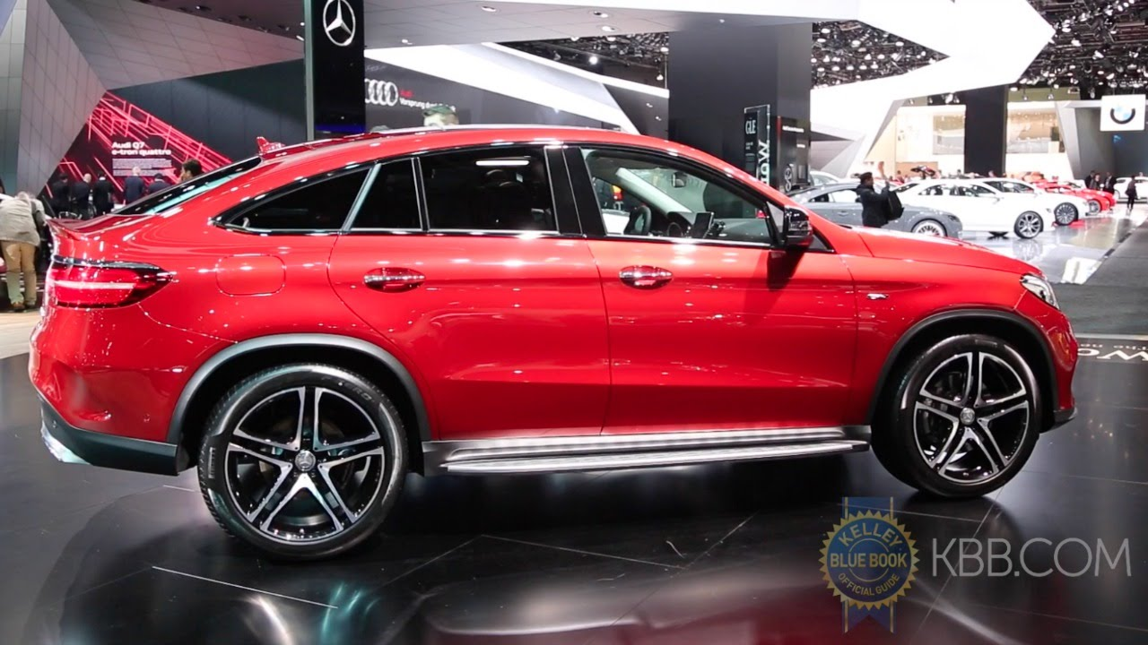 2016 Mercedes Benz Gle Class Coupe 2015 Detroit Auto
