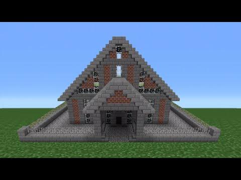 Minecraft Tutorial: Brick House - 5