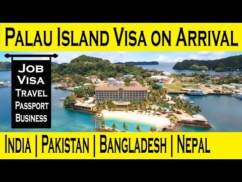 Palau Visa on arrival l Palau to US without Visa Travel  l How to get Palau Passport l Hindi l Urdu