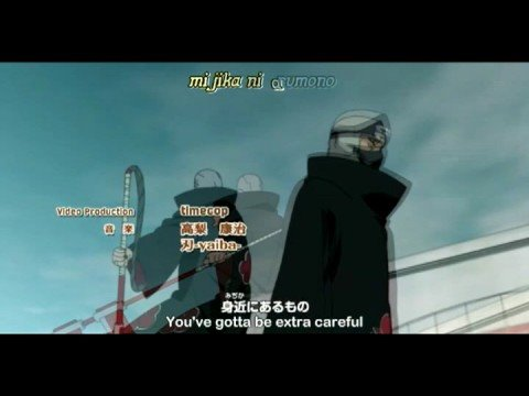 Naruto Shippuuden Opening 4 ~Closer~ Inoue Joe English Subs