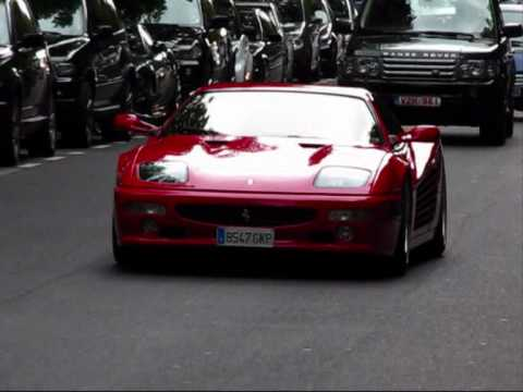 Ferrari F512M (Very very RARE+ revs!) @ Königsallee, Düsseldorf [Autogespot - Carspotting]
