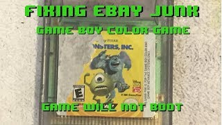 Fixing eBay Junk - Game Boy Color Game - Game won
