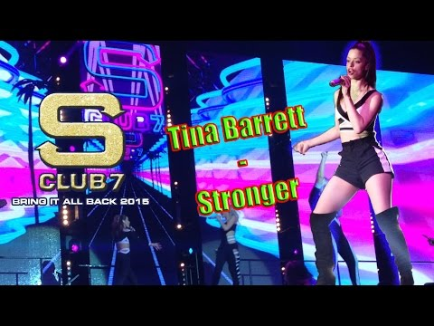 S Club 7 Tina Barrett - Stronger Live 2015