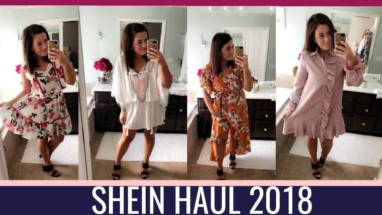 e883938e926d 2018 SHEIN HAUL | SUMMER TO FALL - YouTube