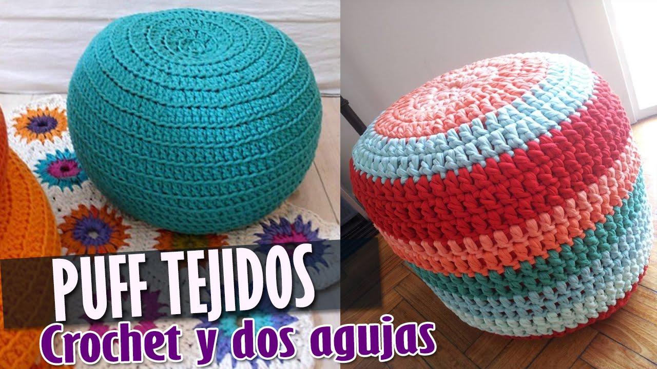 PUFF Tejidos a Crochet y Dos Agujas  Diseos e ideas