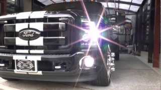"2012 Ford F-350 Dually LOWERD on 26"" Wheels デューリー アメ車 ローダウン"