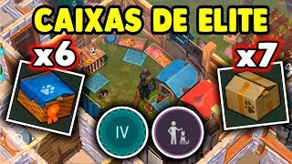 Abrindo 6 Caixas de Elite so Cachorros TOPS - Last Day On Earth