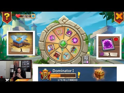JT's F2P New TITLE Rewards Tip On Friendly Roulette Wheel Castle Clash