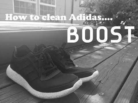 *HOW TO CLEAN ADIDAS BOOST*