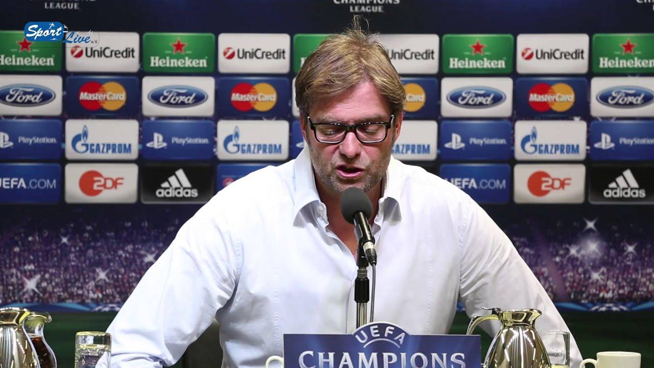 BVB Pressekonferenz vom 23. April 2013 vor dem UEFA Champions League-Halbfinale gegen Real Madrid