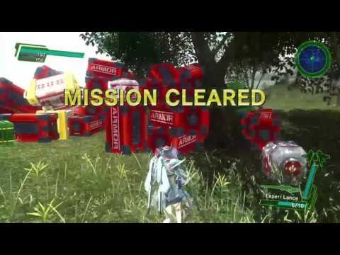 EDF Earth Defense Force 4.1 Mission 26 Crimson Tree Trick Farming