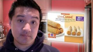 Video Review Of Lean Cuisine Thai-style Chicken Spring Rolls