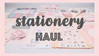STATIONERY HAUL WITH DEMOS! //  BUJO & PENPAL SUPPLIES! | Maiden Manila