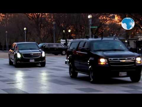 Donald And Melania Trump Visit The Bush Family At Blair House