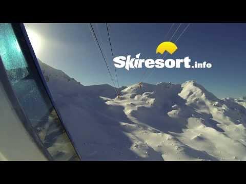 """Arosa Lenzerheide Ski Resort with new """"Urden"""" Connection Lift"""