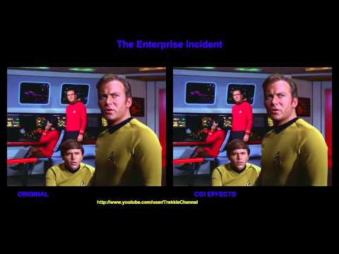 Thumbnail: Star Trek - The Enterprise Incident - visual effects comparison
