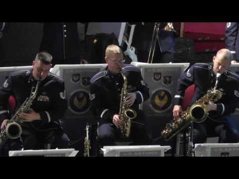 ST Louis Blues March - US Air Force Band In Europe