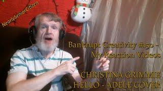 Video CHRISTINA GRIMMIE - HELLO (ADELE) : Bankrupt Creativity #150 - My Reaction Videos download MP3, 3GP, MP4, WEBM, AVI, FLV Agustus 2017