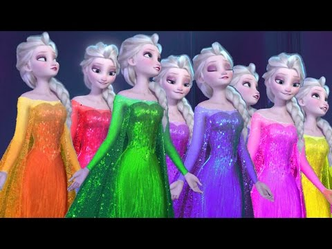 Thumbnail: Frozen Elsa Finger Family Song | Surprise Eggs Collection Video For Children
