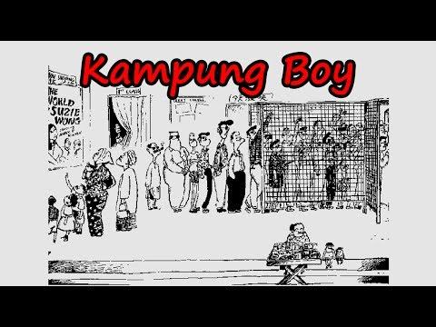 Kampung Boy Comic by Lat