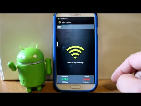 How to activate wifi hotspot/tether for free