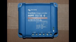 Victron Energy Smart Solar 75/15 MPPT Solar Charge Controller:  Unboxing and first impressions