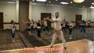 "Asi Haskal Belly Dance Workshop Classic ""MAGANCE""  Little Egypt  U.S.A"