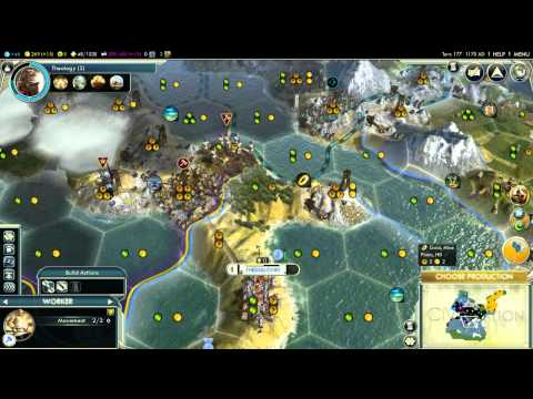 - Civilization V - Alexander of Greece (Episode 1 Part 13) - (Not) Yet Another Giant Earth Map Pack |