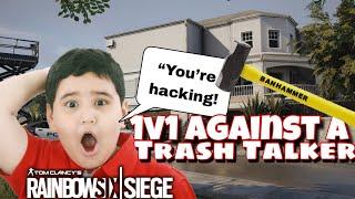 Trashtalker Calls Me A Hacker! - Rainbow Six Siege