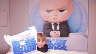 FILM • 100% BOSS BABY LE DESSIN ANIMÉ JEUX & GOODIES - Studio Bubble Tea unboxing
